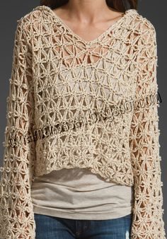 I like this stitch and it looks easy to do. http://omaimahassan.blogspot.com/2014/03/unusual-crochet-hoodie.html