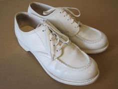 """""""Clinic"""" nursing shoes.  Loved these shoes. Very comfortable. Wore them in the 70's, took the 80's and 90's off to raise my kids, then in the 00's nurses were wearing athletic shoes. I missed my Clinics.."""