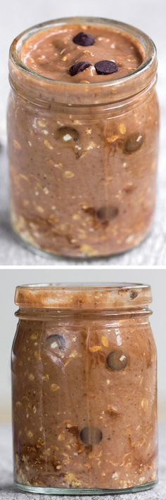 """A super healthy & filling """"grab and go"""" breakfast - just 5 minutes of prep work . - A super healthy & filling """"grab and go"""" breakfast – just 5 minutes of prep work the night before."""