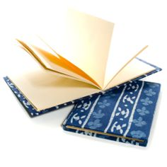use this handmade journal from India to jot down your travel experiences!