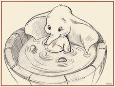 """""""La magia la trajo tu deseo y lo que hizo volar  fue la fuerza que pusiste en agitar las orejas"""" Dumbo. Creado por Helen Aberson y Harold Pearl. #DLIJ"""