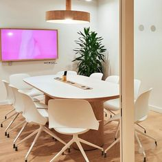 A serene and bright conference room with ergonomic chairs and custom tables. Book this space for your next meeting! #nycmeetingspace #meetingspace #meetingspacerental #nyclocationscout #officespacerental #meeting #meetingplace #meetingroom #spaceinmotion #design #photooftheday #decor #scout #locations #manhattan #nyc #newyork Meeting Space Rental, Custom Tables, Location Scout, Manhattan Nyc, Meeting Place, Ergonomic Chair, Serenity, Conference Room, Chairs