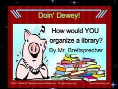 How would you organize a library? Melvil Dewey created a system in the that is still used today – let's look at how it organized books by topics. Library Lesson Plans, Library Skills, Library Lessons, Library Ideas, Library Science, Library Activities, Library Orientation, Dewey Decimal System, Future Library