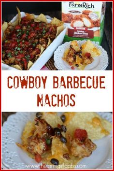These Cowboy Barbecue Nachos are the ultimate snack made with only SIX ...
