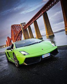 ✯Florescent Green Lamborghini  www.pinterest.com/taddhh/favorite-fast-cars
