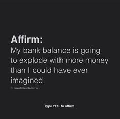 Manifestation Law Of Attraction, Law Of Attraction Affirmations, Law Of Attraction Quotes, Positive Thoughts, Positive Vibes, Positive Quotes, Money Affirmations, Positive Affirmations, Faith Quotes