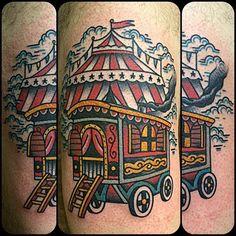 Tattoo by Gonzalo MM en @lastportleon gracias David #tattoo #traditionaltattoo…