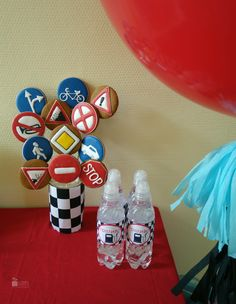 Candy bar. Paper decor. Cars style. 3d birthday for boy. Cartoon. McQueen. Balloons. Tassel garland. Tussel garland. Ginger cookies. Fuel.