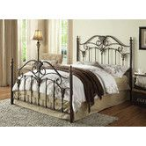Furniture on pinterest amish furniture wrought iron beds and ethan allen - Ethan allen metal bed ...