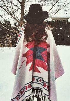 Totally in love with this poncho!