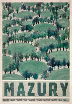 Ryszard Kaja Posters, Online Sales and Exhibition, Poster Gallery Warsaw, Poland Typography Poster Design, Typography Prints, Art Deco Posters, Cool Posters, Polish Folk Art, Polish Posters, Great Paintings, Vintage Travel Posters, Illustrations And Posters
