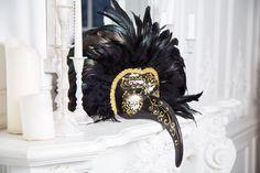 Венецианская карнавальная маска «Чёрный ворон» – купить в интернет-магазине на Ярмарке Мастеров с доставкой