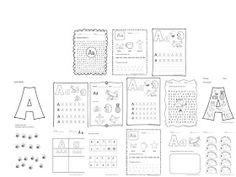 Clasa pregatitoare: Fise litere Minion, Activities For Kids, Preschool, Bullet Journal, Letters, Words, David, Minions, Nursery Rhymes