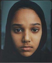 Celine van Balen Islamic Girls Untitled, Amsterdam, 1998