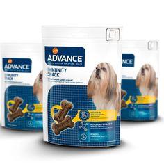 Snack para perros Immunity Advance Health Snacks, Dog Food Recipes, Vitamins, Nutrition, Pets, Pet Tips, Vit B6, Immune System, Healthy Snack Foods