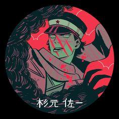 "saishoguu: ""I love… Golden Kamuy "" Blue Exorcist, Chiba, Cowboy Bebop, Sara Kipin, Avatar, Character Art, Character Design, Inu Yasha, Naruto"