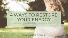 Introverts restore their energy from within. But this doesn't have to be boring or unproductive. Here are my favourite ways to restore my energy. Introvert, Restore, Personal Development, Restoration, Life, Freshman Year, Life Coaching