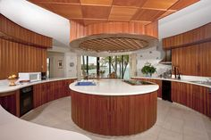 This kitchen is beautifully designed.