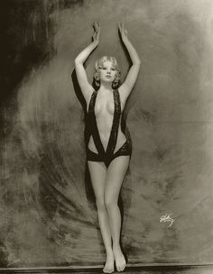 Faith Bacon who was a Burlesque dancer and Ziegfeld Follies girl between 1928 and 1931, who tragically committed suicide by throwing herself out of a window when she couldn't find work. She was only 46.
