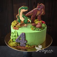 Birthday Cake For Mom, Dinosaur Birthday Cakes, Dinosaur Cake, Happy Birthday, Cookies And Cream Cake, Cake Cookies, Cupcake Cakes, Dinosaur Cookies, Dino Cake
