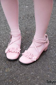 Pink Sweet Lolita Shoes
