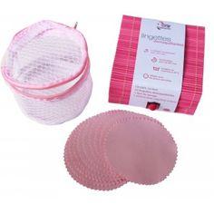 Stop using cotton. Try reusable microfibre wipes !  --- Les lingettes démaquillantes en microfibre, réutilisables 300 fois.