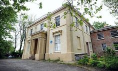 Novelist Elizabeth Gaskell's house (1810-1865) in the city of Manchester, UK
