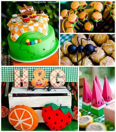 THAIANA HG!!!!   Summer Picnic Birthday Party {Decor, Planning, Ideas, Styling, Cake}