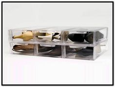 Clear Stackable Storage Drawers