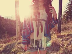 I have a shirt like this but no print on the front.... Love