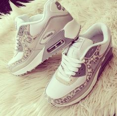 Leopard Air Max! Probably the only Trainers I'll ever 'Like'  #TheBeautyAddict