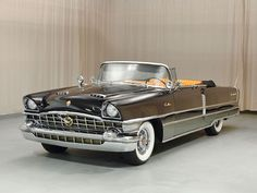 1956 Packard Caribbean Convertible Drivers Side Front View