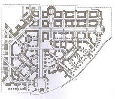 Greenfield new urbanist development at Kirchsteigfeld, Potsdam, Germany.