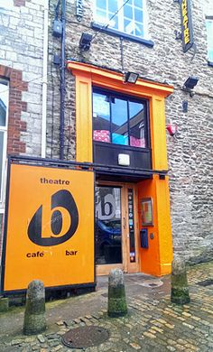 The Barbican Theatre on the historic Plymouth Barbican