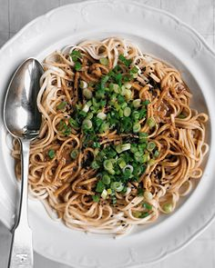 Sesame Udon Noodles. Oh my goodness. Make a double batch and eat the leftovers cold the next morning.