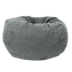 Comfort Research Classic Bean Bag in Comfort Suede | Wayfair