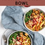 Winter Roasted Vegetable Bowl (with Tahini Lime Dressing) #wheatberry #wheat #wheatlovers #wheatgrass #wheatberries #farming #healthy #homegrown #Farm #wheatrecipes #food #foodie #healthylifestyle #healthyeating Oven Vegetables, Mixed Vegetables, Roasted Vegetables, Veggie Recipes, Whole Food Recipes, Tahini Recipe, Lime Dressing, Vegetable Bowl