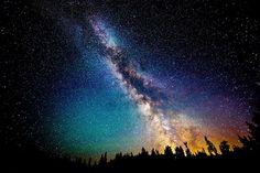 Stan Waszyngton, USA Zachwycające zdjęcia nocnego nieba i Drogi Mlecznej widzianej z Ziemi - Joe Monster