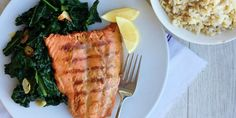 Use the soy-Dijon-honey sauce in this grilled salmon recipe on chicken, steak, or even as a quick marinade for vegetables.