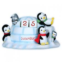 2014 Penguin Advent Calendar - Precious Moments - to compliment series