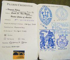 Pilgrim passport