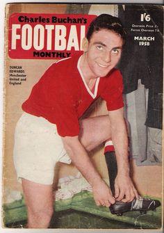 #DuncanEdwards for #ManchesterUnited. Legend beyong legends. www.goalhangers.co.uk