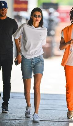Kendall Jenner in New York 2018 Kendall Jenner Outfits, Kendall And Kylie, Celebrity Outfits, Celebrity Style, Looks Style, My Style, Jenner Girls, Summer Outfits, Casual Outfits