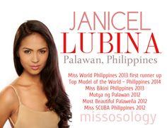 WATCH Janice Lubina – Binibining Pilipinas 2015 INTERNATIONAL- Overall Performance Miss World, Palawan, Pageants, Infographics, Philippines, Most Beautiful, Overalls, Watch, Bikinis