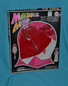 Maddie Mod Doll Mego Outfit  Cranberry Caper