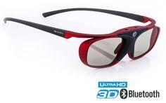 """Hi-SHOCK® BT PRO """"SCARLET HEAVEN"""" (Bluetooth 3D Brille für Samsung®, Sony®…"""