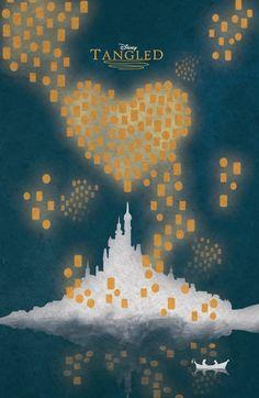 Disney Tangled Poster