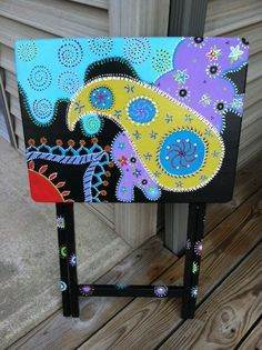 Side Tables Or TV Dinner Trays. $90.00, via Etsy.