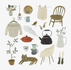 Gemma Koomen, 'A Calm Morning at Home'