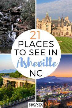 Ashville North Carolina, Ashville Nc, North Carolina Vacations, South Carolina, Cool Places To Visit, Places To Travel, Travel Destinations, Visit Asheville, Asheville Things To Do